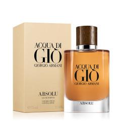 GIORGIO ARMANI Acqua di Gio Absolu - Eau De Parfum (75ml) - Férfiaknak