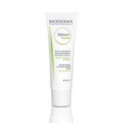 BIODERMA Sebium Hydra Moisturising Replenishing Care (For Acne-Prone Skin)  (40 ml)  - Pre ženy