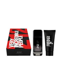 CAROLINA HERRERA 212 Men VIP Black Set - Eau De Parfum (100ml)