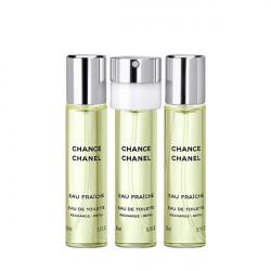 CHANEL Chance Fraiche - Eau De Toilette (3×20ml)  utántöltő