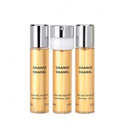 CHANEL Chance - Eau De Toilette (3×20ml)  utántöltő