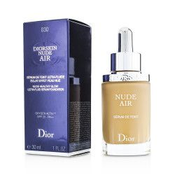 CHRISTIAN DIOR Diorskin Nude Air Foundation 030 Medium Beige -  (6ml)