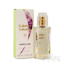 GABRIELA SABATINI Happy Life - Eau De Toilette (30ml)