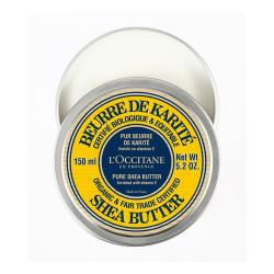 L'OCCITANE Organic Pure Shea Butter - Testápoló krém (150ml)